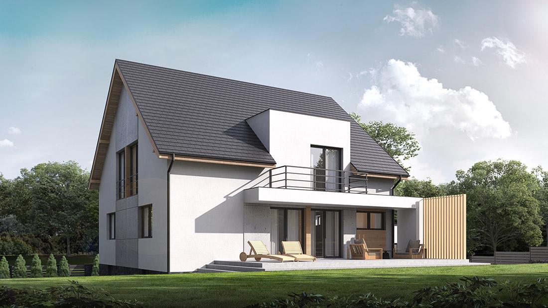 Przebudowa, rozbudowa i nadbudowa budynku mieszkalnego, Sucha Beskidzka