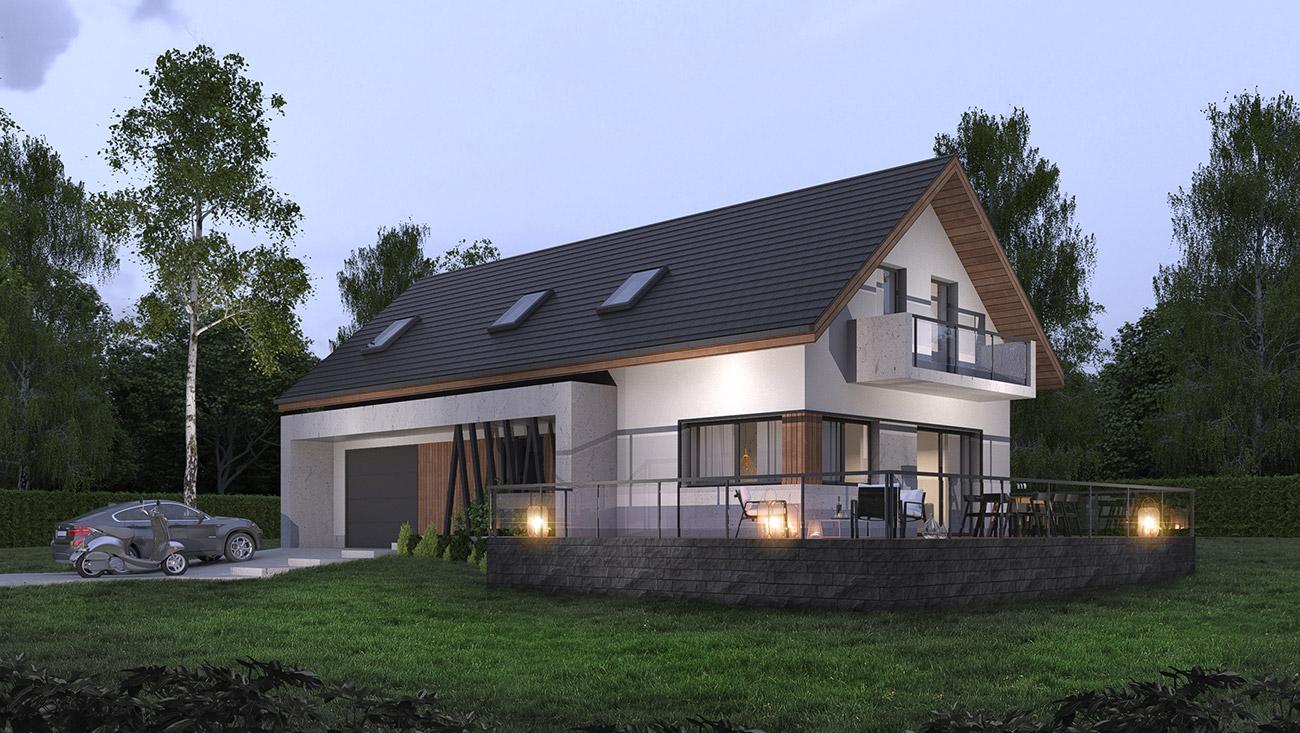 Przebudowa budynku gospodarczego z przeznaczeniem na cele mieszkalne, Witanowice