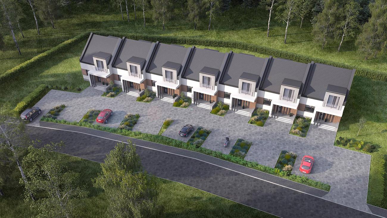 Budowa siedmiu budynków mieszkalnych w zabudowie szeregowej, Andrychów